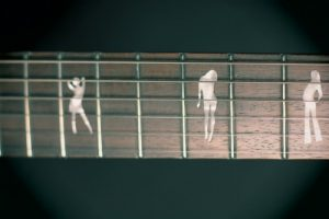 Маркеры на грифе гитары