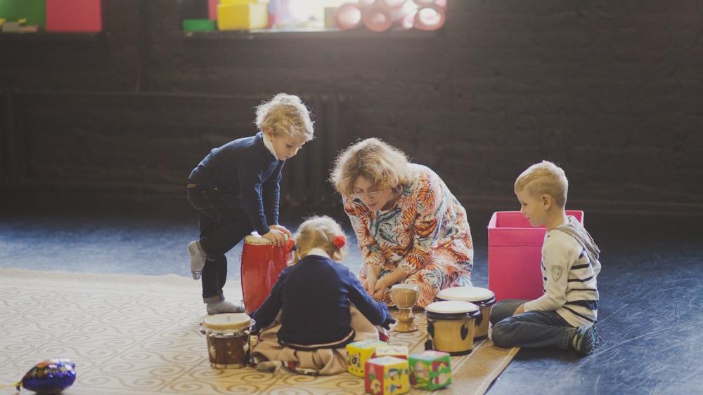 Музыкальные занятия для малышей стартовали в Jam's cool