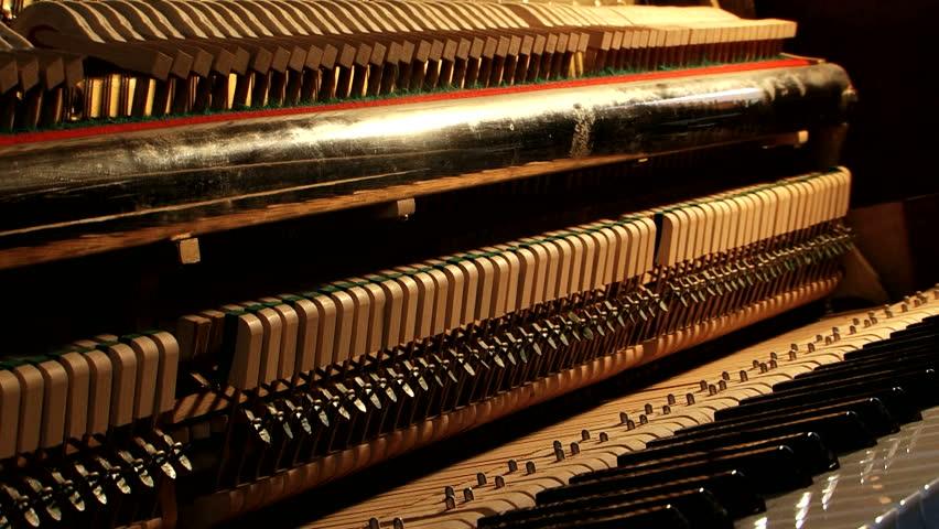 Как устроено фортепиано?